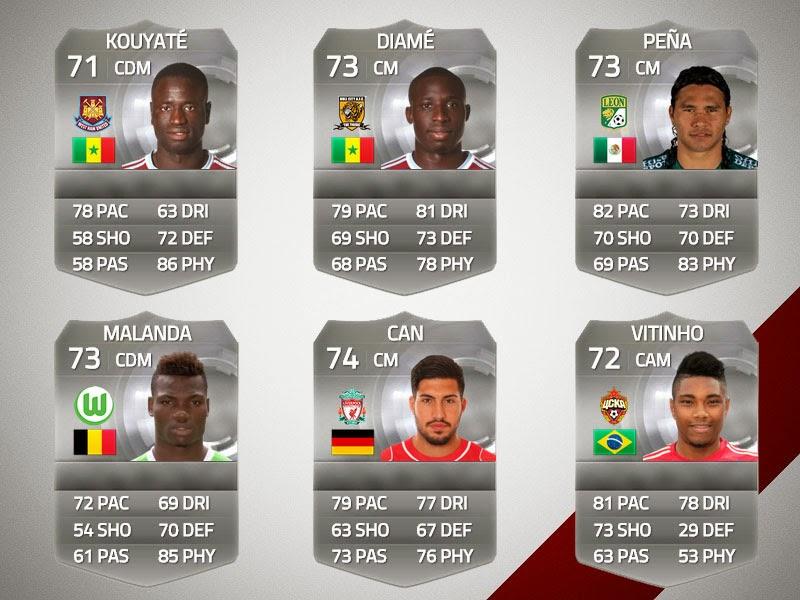 Los mejores jugadores de plata de FIFA 15 Ultimate Team, los mejores porteros, defensas, laterales, mediocampistas, extremos, delanteros FUT 15, Best silver players FIFA 15 Ultimate Team, strikers FUT 15