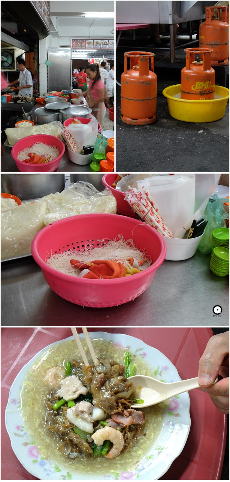 hor fun penang style char hor fun always has meat pork liver seafood ...