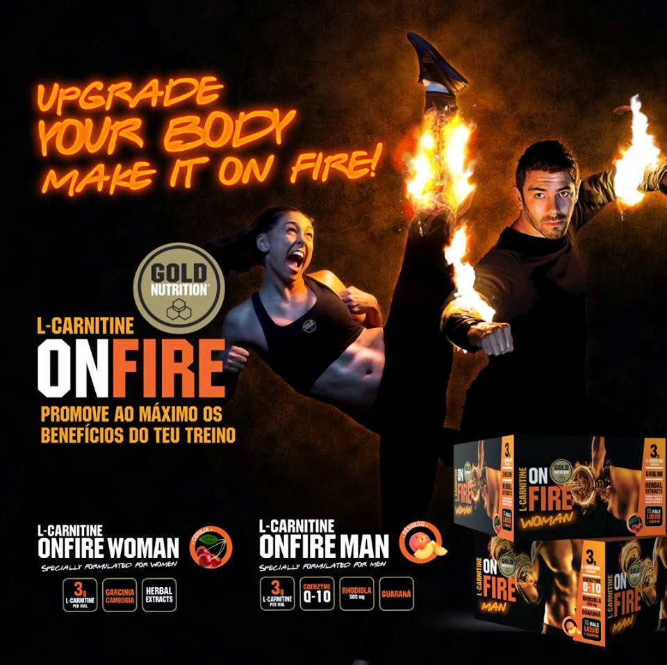 L-Carnitina On Fire Gold Nutrition