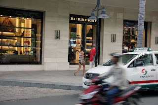 Luxury shopping in Ho Chi Minh City