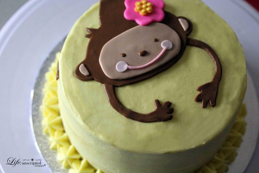 Ảnh bánh sinh nhật hình con khỉ đẹp nhất đáng yêu nhất