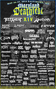 MARYLAND DEATHFEST XIV 2016