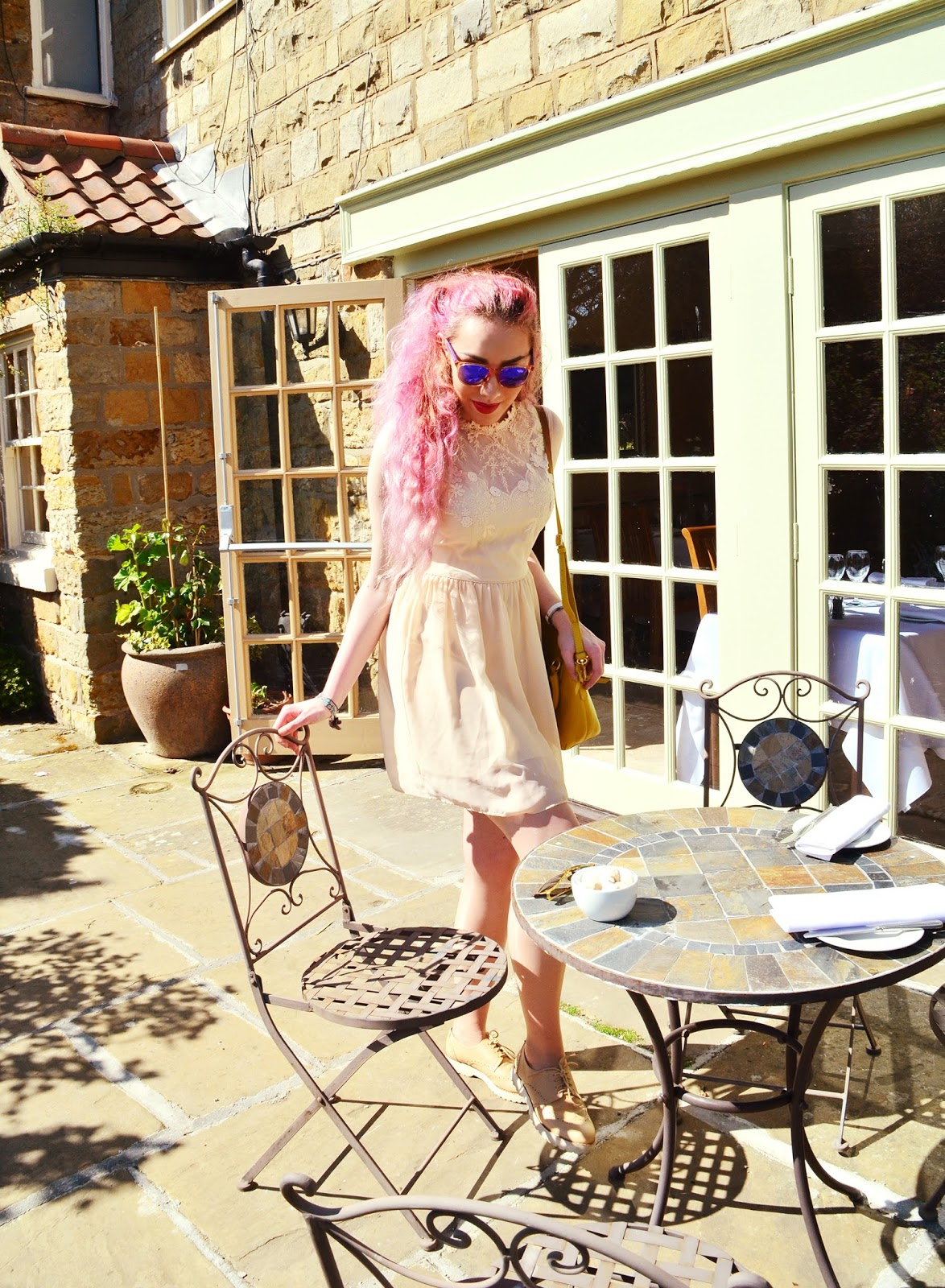 Scarborough Courtyard Afternoon Tea British Blogger Stephi LaReine