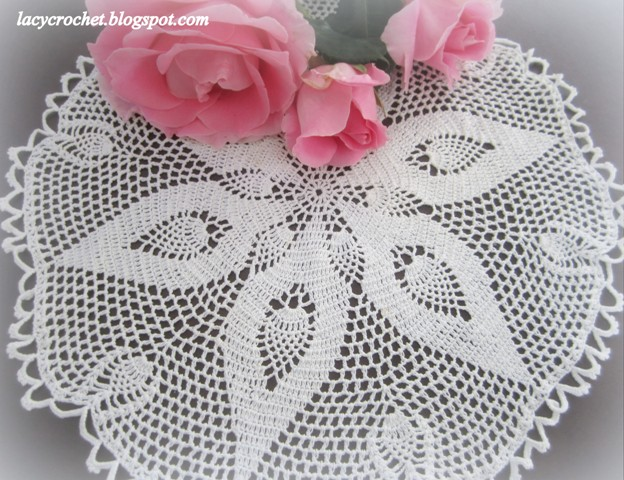 Lacy Crochet: Doily of the Week #21: Vintage Doily and ...