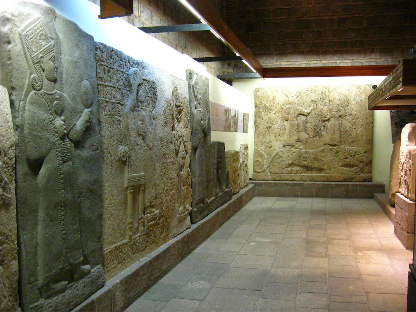 carved stone tablets of the Hittites