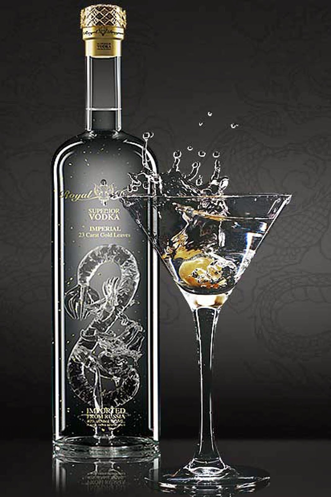 dragone vodka oriente nero black bottiglia packaging naming design ricerca nome