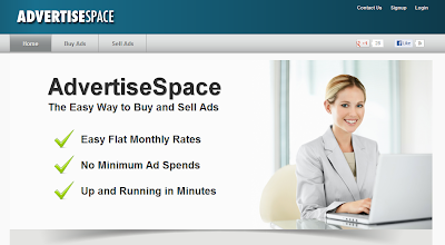 AdvertiseSpace.com Make Money from Blog by Selling Ads Space