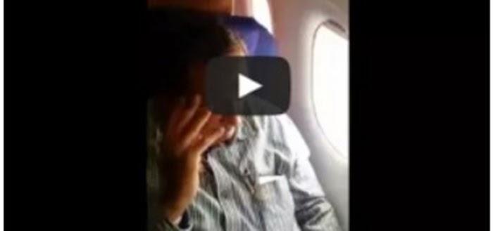Video Gadis Cantik Jadi Mangsa Kerakusan Lelaki Tua Dalam Pesawat Menjadi Viral
