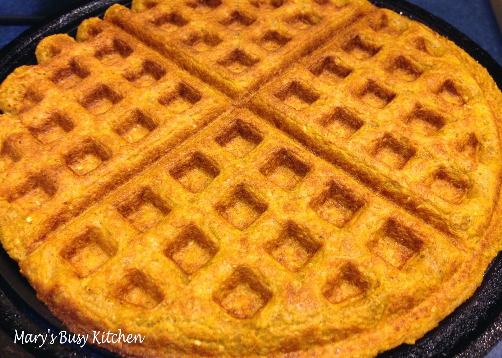 Pumpkin Banana Waffles Recipes — Dishmaps