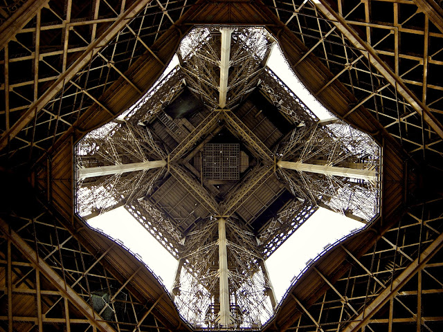eiffel tower inside