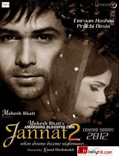 Jannat 2(2012) Hindi Movie Mp3 Song Download,Hindi Movie Songs Jannat 2 (2012),Imran Hashmi Movie Song,Prachi Desai Movie SOng,Free Download Jannat 2 Movie Song,Jannat 2 Mp3 Song,Bollywood Movie Song Jannat 2