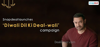 Snapdeal Diwali Dil Ki Deal 100 Lucky Customers to Win Exciting Prizes daily