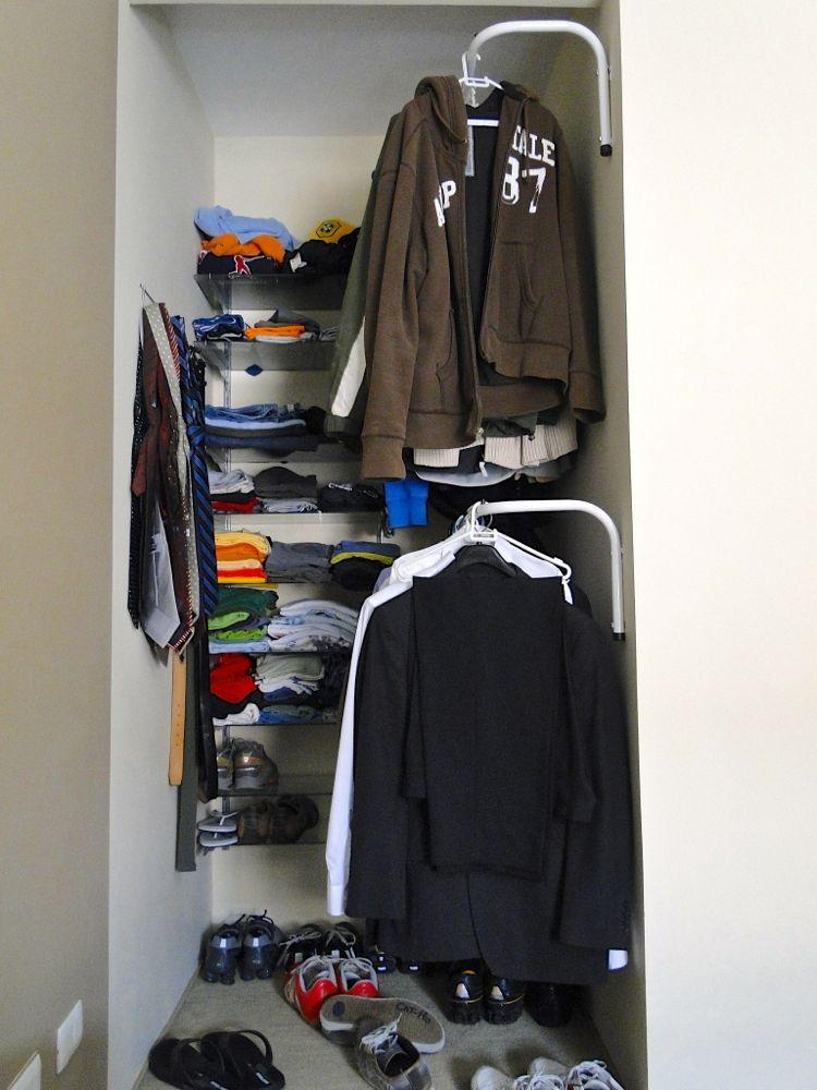 Tu Organizas Como organizar um armário masculino