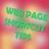 Free Tips for Making  a Shortcut Key for Internet webpage