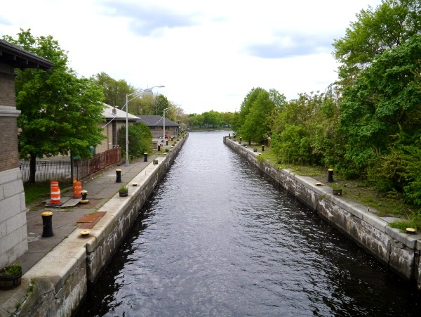 Little canal in Boston