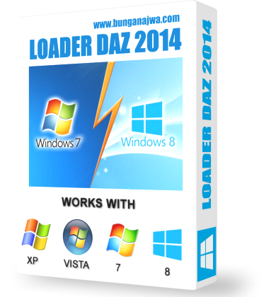 Windows Loader v2.2.2 by Daz 2014 for Activator Windows 7 and 8