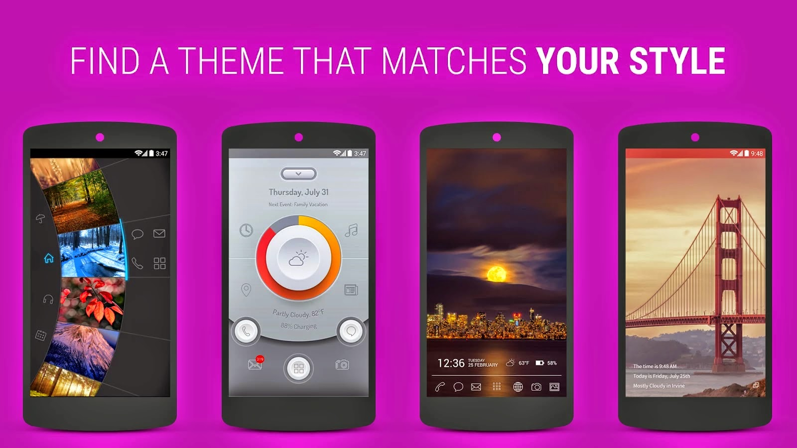 Themer: Launcher, HD Wallpaper v1.73 APK
