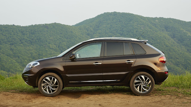 New Renault Koleos side