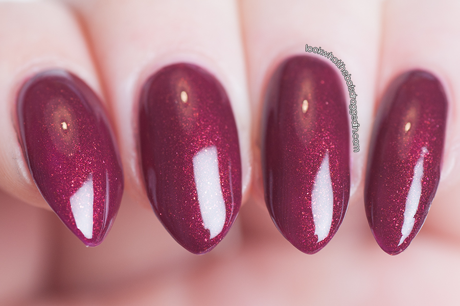 Arcane Lacquer Strutter nail polish swatch