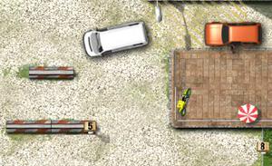 لعبة خادم السيارات