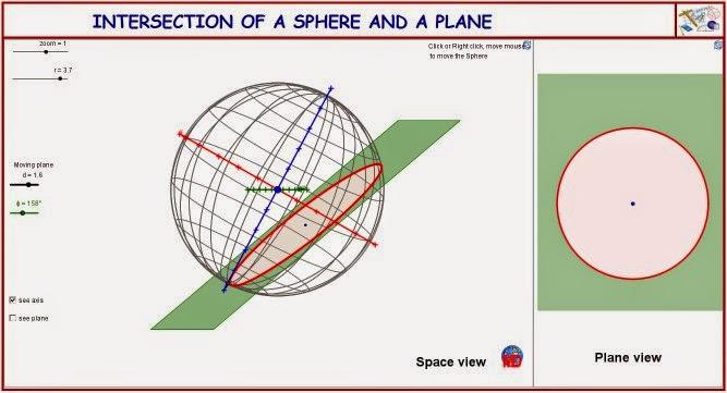 http://dmentrard.free.fr/GEOGEBRA/Maths/Nouveautes/4.25/SphereplaneMD.html