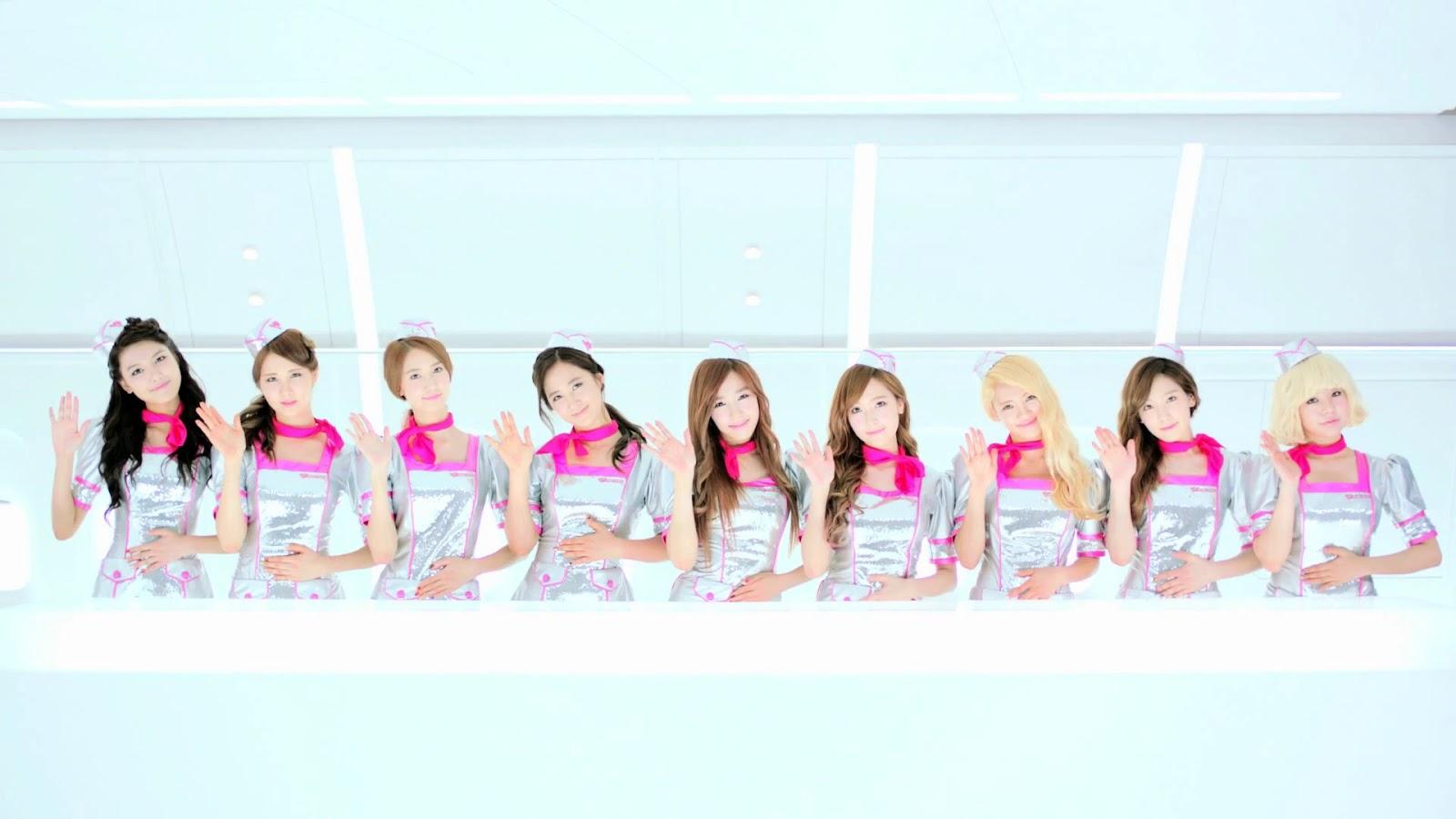 Flower Power Girls' Generation Lyric Video - YouTube
