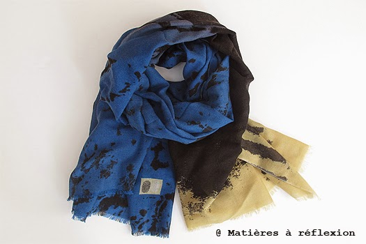 Foulard homme hiver 2014 Mii accessoires