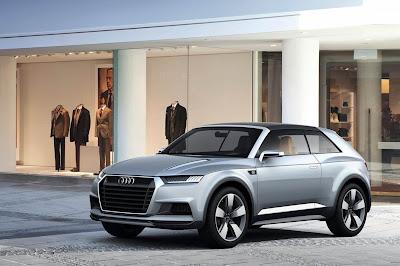 Audi Quattro Sport : Le projet annulé