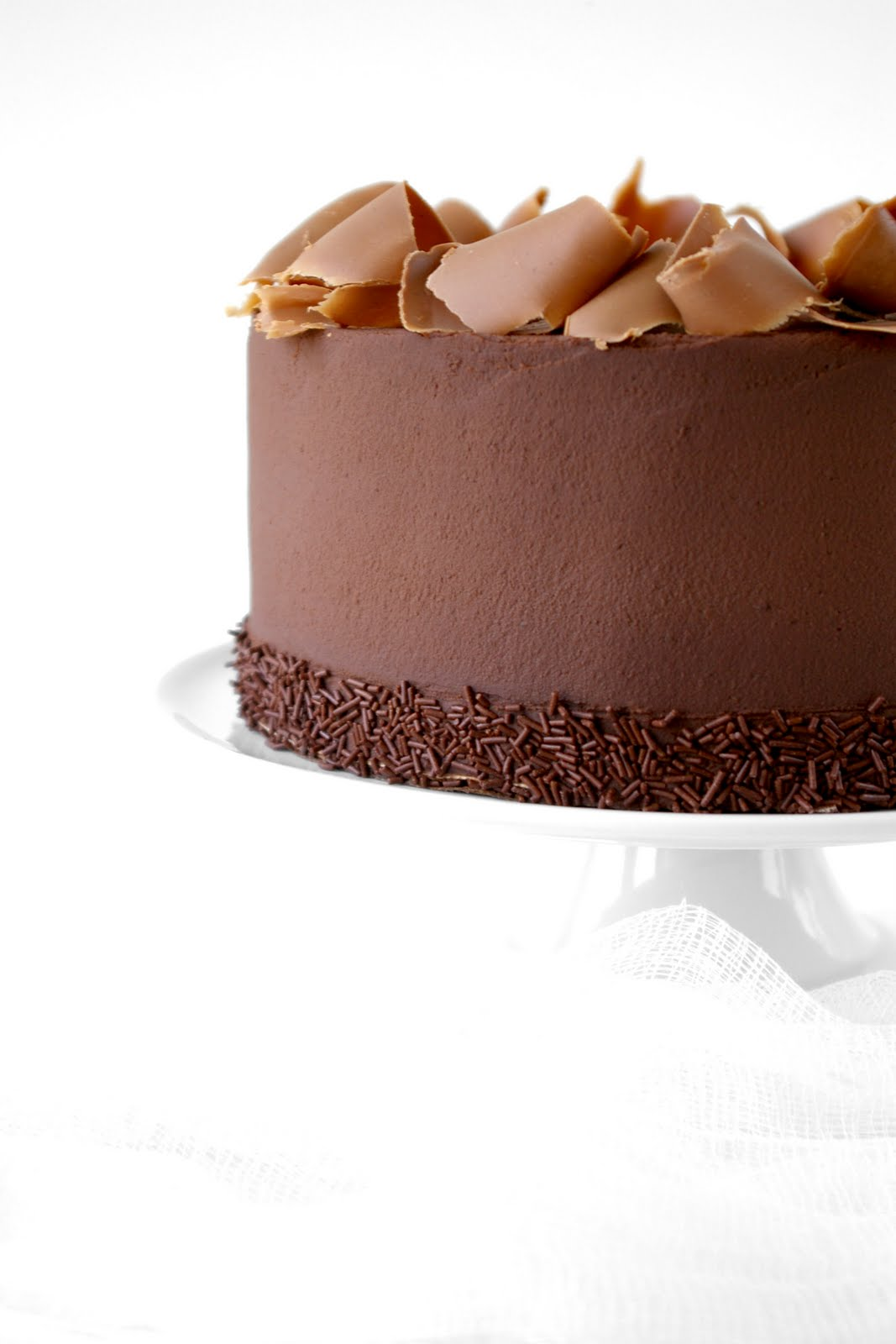 These Peas are Hollow: Triple Chocolate Ganache Torte