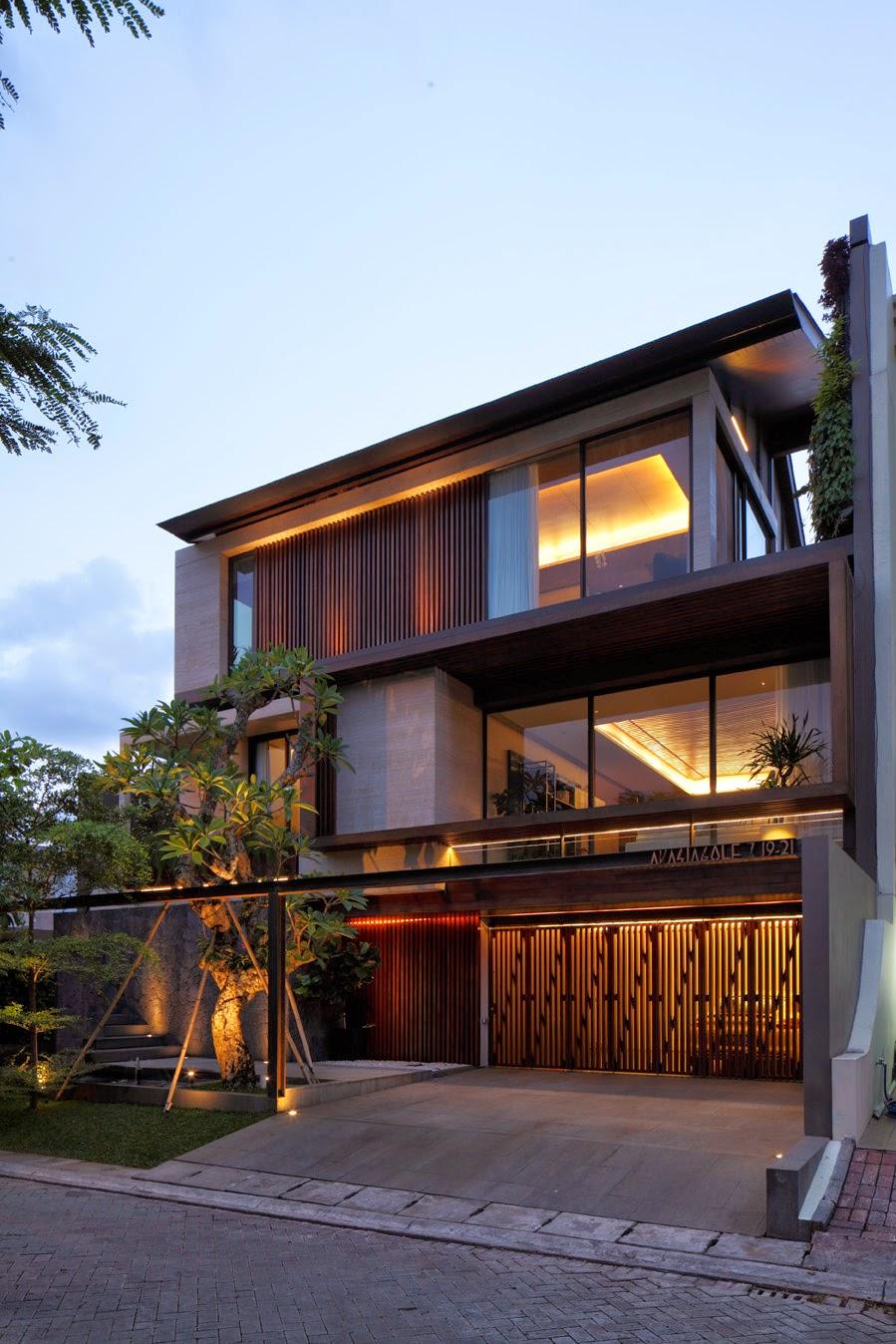 MARTIN WESTLAKE Jakarta House For Nataneka Achitects - Modern house jakarta