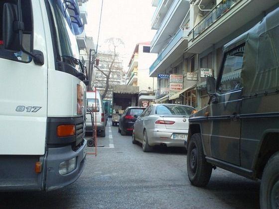 Ταλαιπωρία επιβατικών και λεωφορείων