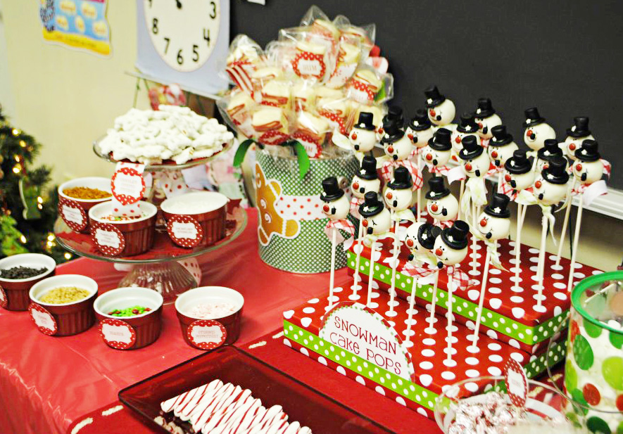 Classroom Birthday Party ~ Amanda s parties to go customer classroom christmas party