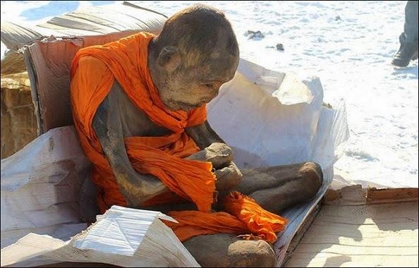 Penemuan Mumi Biksu Berusia 200 Tahun di Mongolia