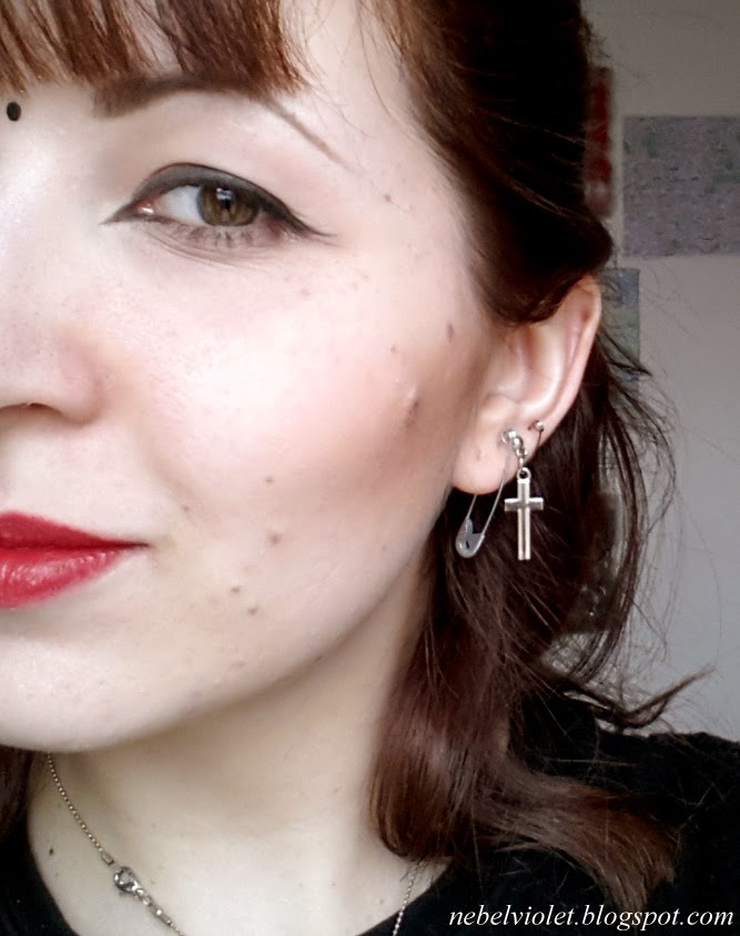 how to wear ear pins