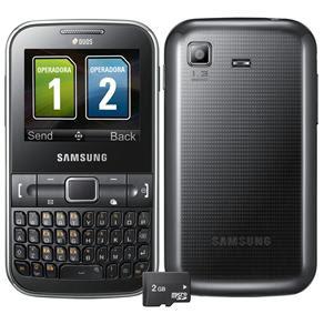 Ponto Frio: Celular Desbloqueado Samsung Cartão de 2GB por R$ 399,00 ou 12X de R$33,25