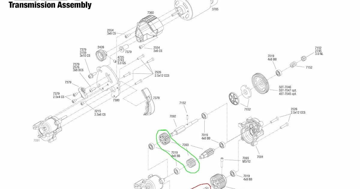 traxxas revo 2 5 parts diagram schematic diagrams rh ogmconsulting co e revo parts list e revo parts list