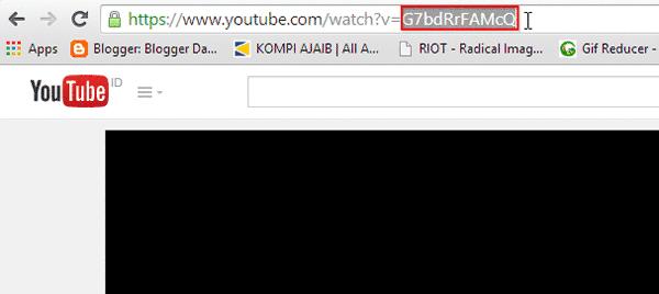 Kode Unik ID Video Youtube