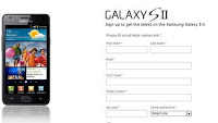 U.S. Samsung Galaxy S II signup page available
