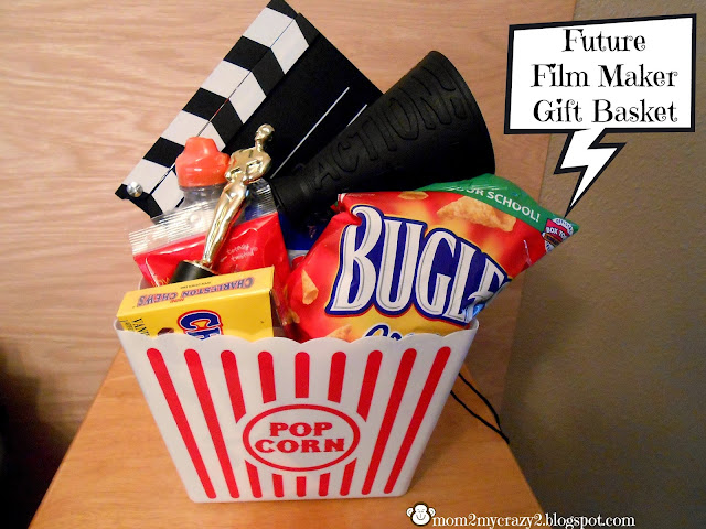 I Wanted To Do Something Fun For His Birthday And Thought A Future Film Maker Gift Basket Would Be Perfect Him