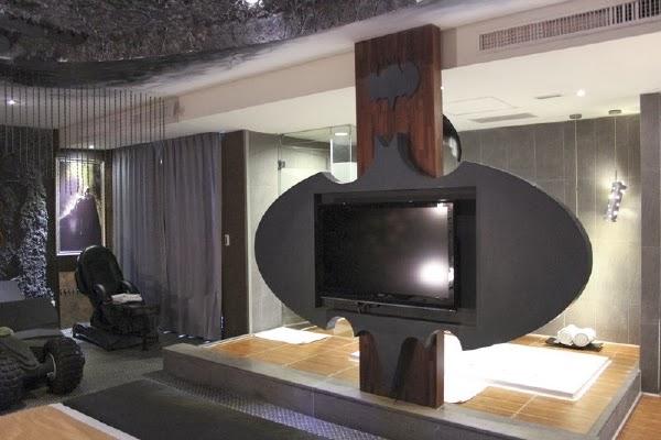 Bat Room in Hotel Edén of Kaohsiung City