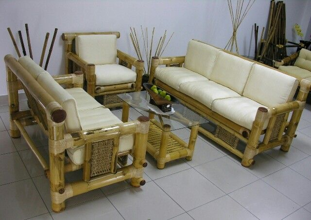 bamboo set livingroom chair ideas
