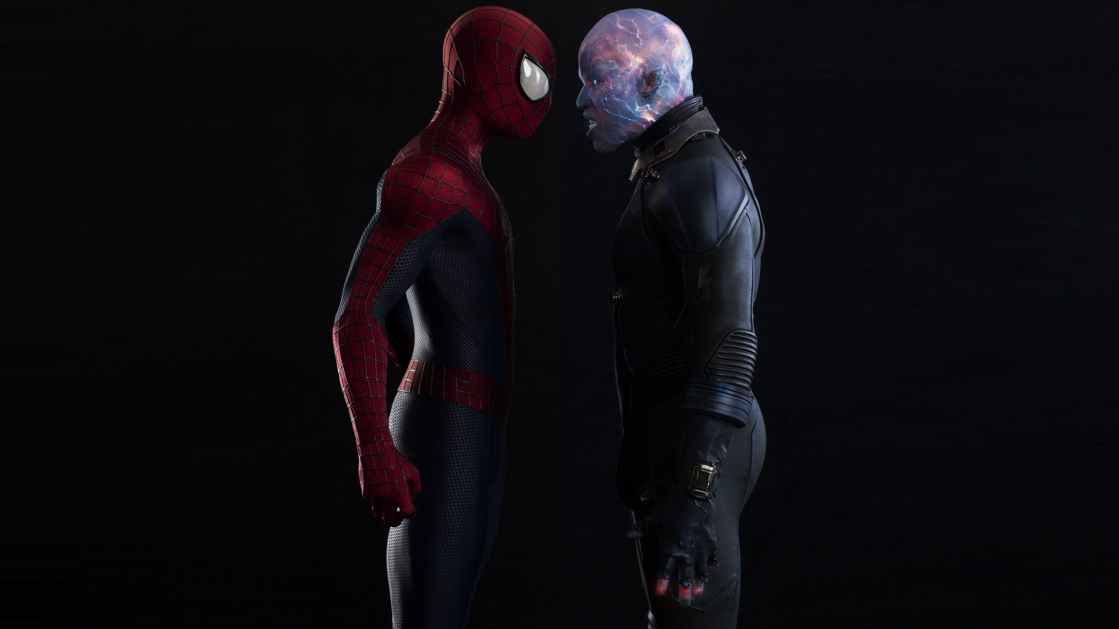 Electro Spider Man Wallpaper Spiderman Vs Electro W...
