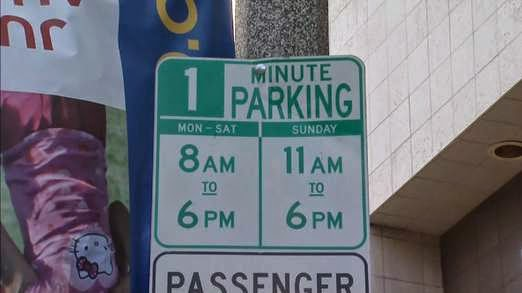 http://news.sky.com/story/1287295/one-minute-parking-sign-put-up-in-los-angeles