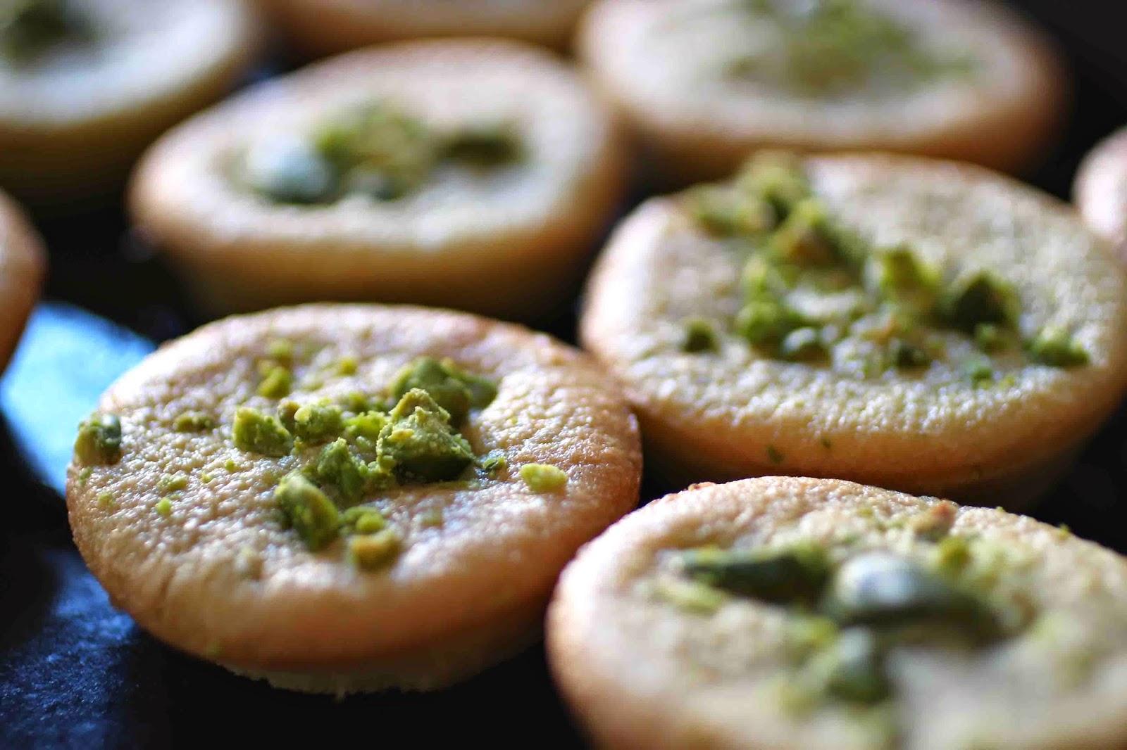 Petits moelleux aux pistaches