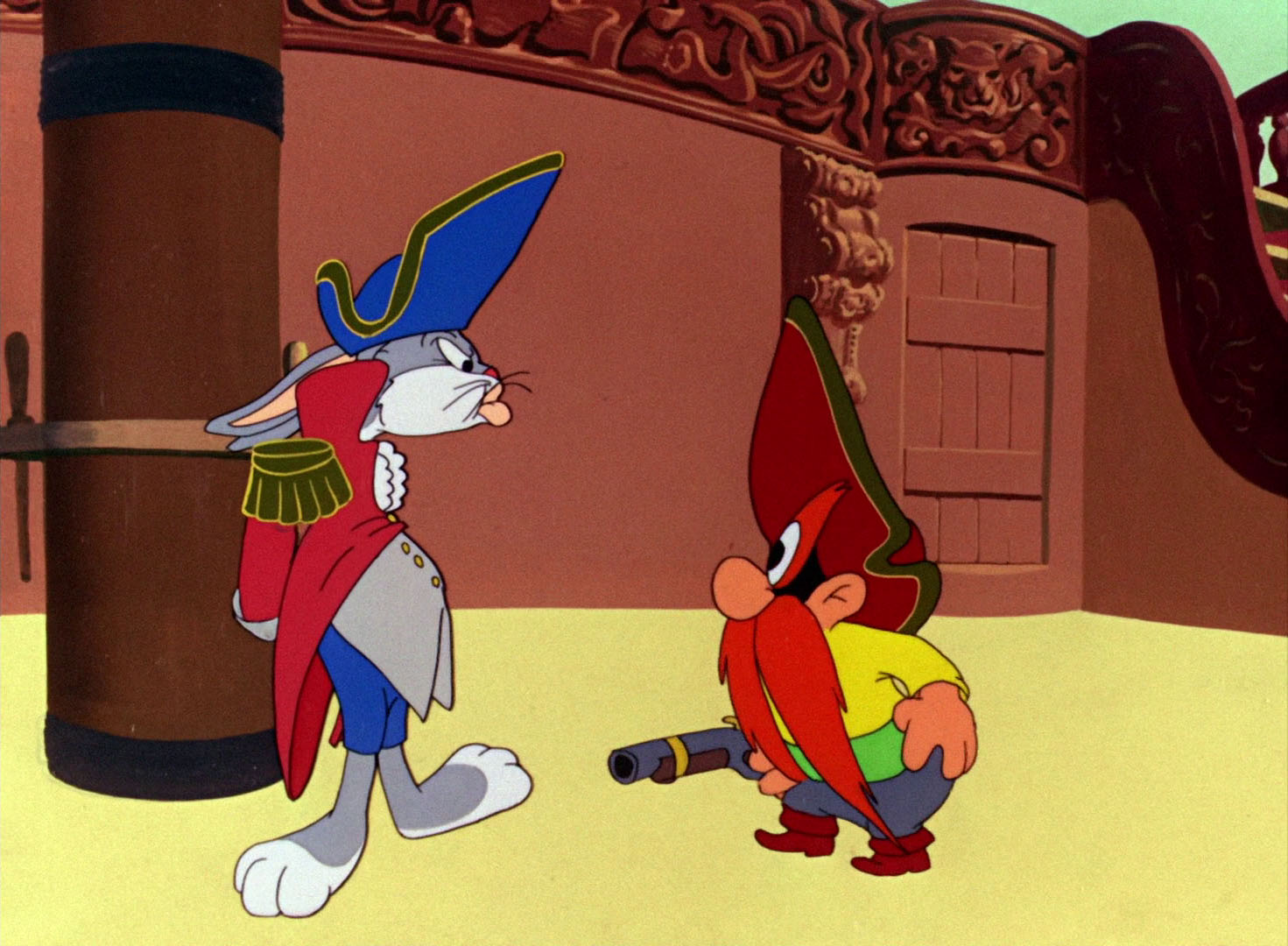 The top tencartoons of 1948 forces of geek - Bugs bunny pirate ...