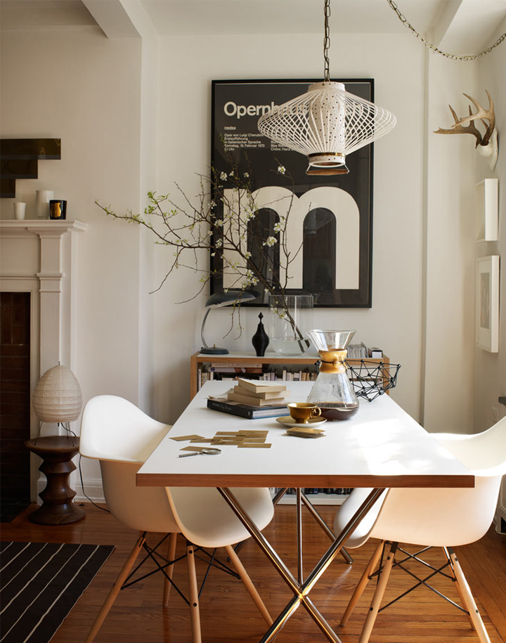 Black white and gold in new york 79 ideas - Black white and gold room ...