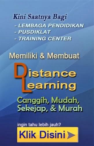 Buat Distance Learning Sendiri
