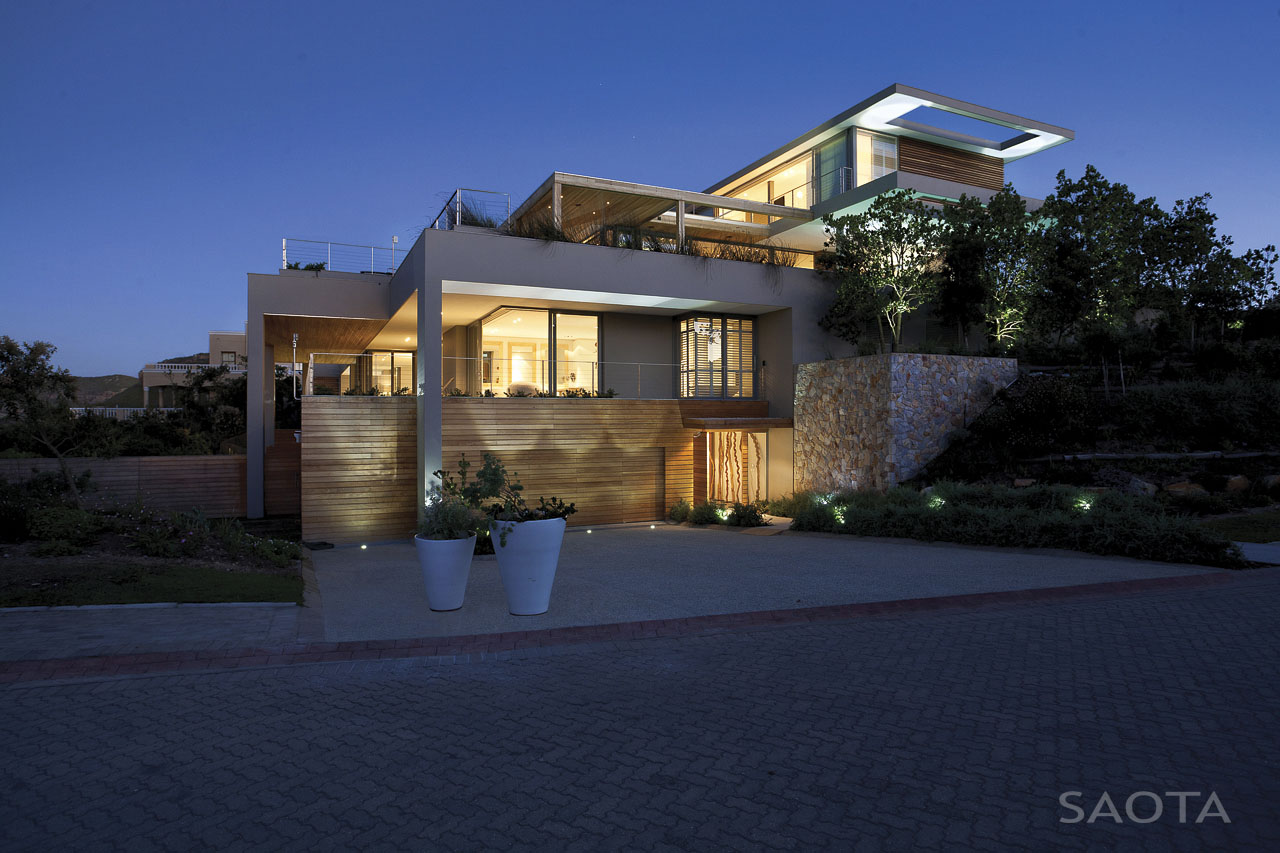 Contemporary Beachfront Home In South Africa Home Design Trends - Beachfront home designs