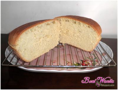 Percubaan Buat Roti Loaf Guna Tepung Gandum. Jadi Ke Tidak. Resepi Asas Doh Roti. Cara Buat Roti Loaf Guna Tepung Gandum