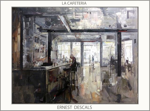 CAFETERIA-PINTURA-CAFETERIAS-PINTURA-CUADROS-ARTISTA-PINTOR-ERNEST DESCALS-